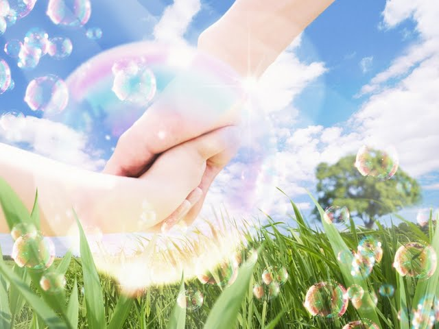 ecocity-and-nature-parent-and-child-holding-hands-photo--eco-environment-and-human-108013